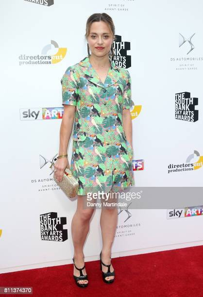 Zoe Tapper attending The Southbank Sky Arts Awards 2017 at The Savoy Hotel on July 9 2017 in London England