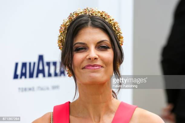 Zoe Ventoura poses for photographers at the Melbourne Cup CarnivalPHOTOGRAPH BY Chris Putnam / Barcroft Images 44 207 033 1031...