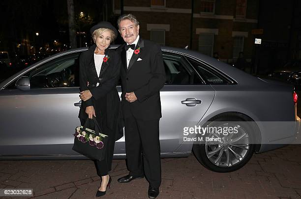 Zoe Wanamaker and Gawn Grainger arrive in an Audi at The London Evening Standard Theatre Awards at The Old Vic Theatre on November 13 2016 in London...