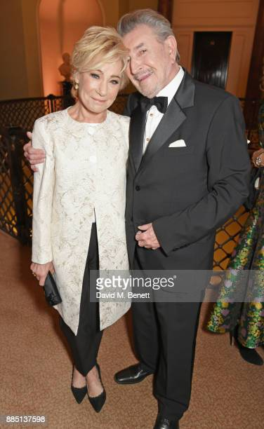 Zoe Wanamaker and Gawn Grainger attend a drinks reception ahead of the London Evening Standard Theatre Awards 2017 at the Theatre Royal Drury Lane on...