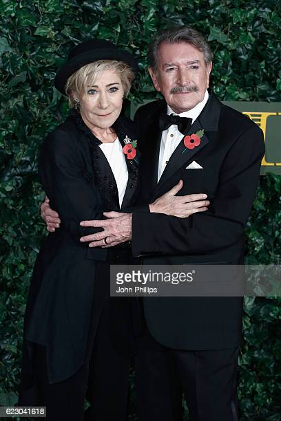 Zoe Wanamaker and Gawn Grainger attend The London Evening Standard Theatre Awards at The Old Vic Theatre on November 13 2016 in London England