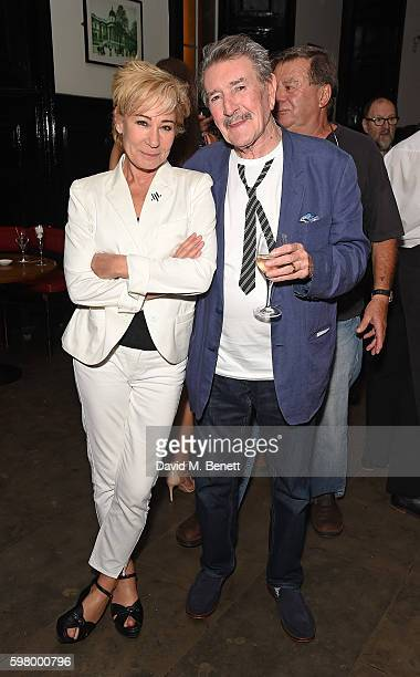 Zoe Wanamaker and Gawn Grainger attend the press night party for The Entertainer the final production in The Kenneth Branagh Theatre Company's West...