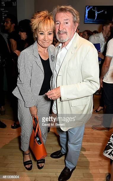 Zoe Wanamaker and Gawn Grainger attend the press night performance of The Car Man at Sadler's Wells Theatre on July 19 2015 in London England
