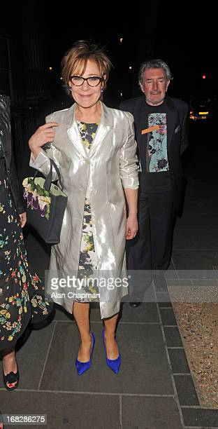 Zoe Wanamaker and Gawn Grainger sighting at the after party for Passion Play on May 7 2013 in London England