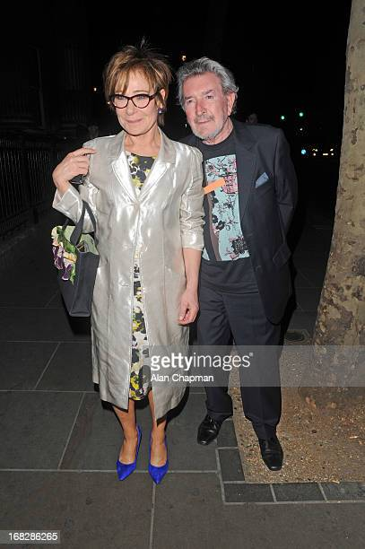Zoe Wanamaker and Gawn Grainger sighting attend the after party for Passion Play press night on May 7 2013 in London England