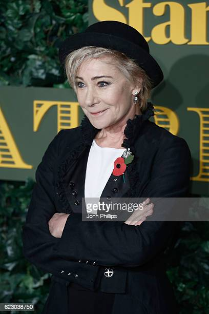 Zoe Wanamaker attends The London Evening Standard Theatre Awards at The Old Vic Theatre on November 13 2016 in London England
