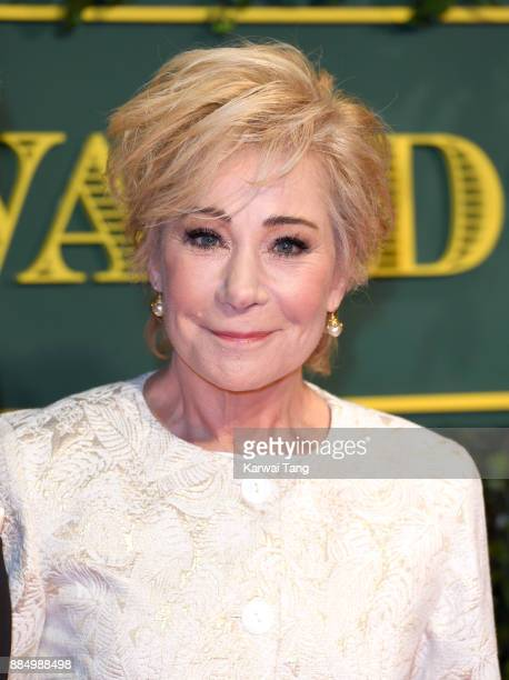 Zoe Wanamaker attends the London Evening Standard Theatre Awards at Theatre Royal on December 3 2017 in London England