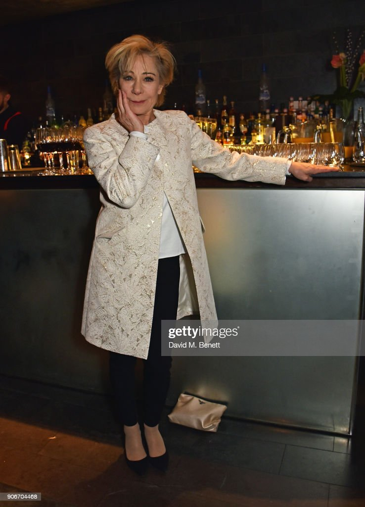 Zoe Wanamaker attends the press night after party for 'The Birthday Party' at Mint Leaf on January 18, 2018 in London, England.