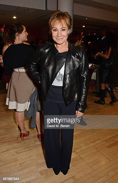 Zoe Wanamaker attends the press night performance of 'Brasil Brasileiro' at Sadler's Wells Theatre on July 10 2014 in London England