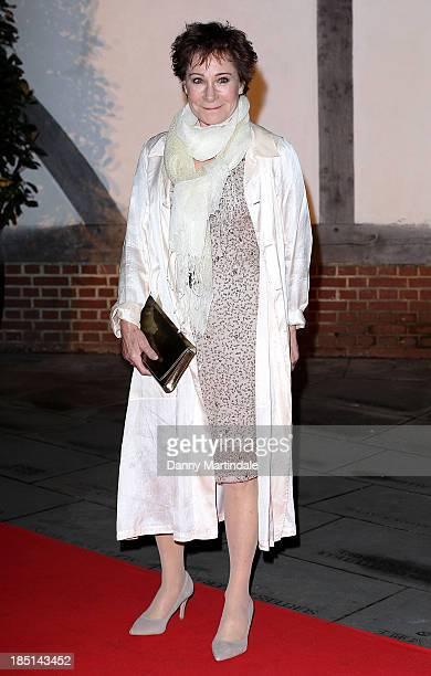 Zoe Wanamaker CBE attends as Zoe Wanamaker hosts a Gala Dinner at Shakespeare's Globe on October 17 2013 in London England