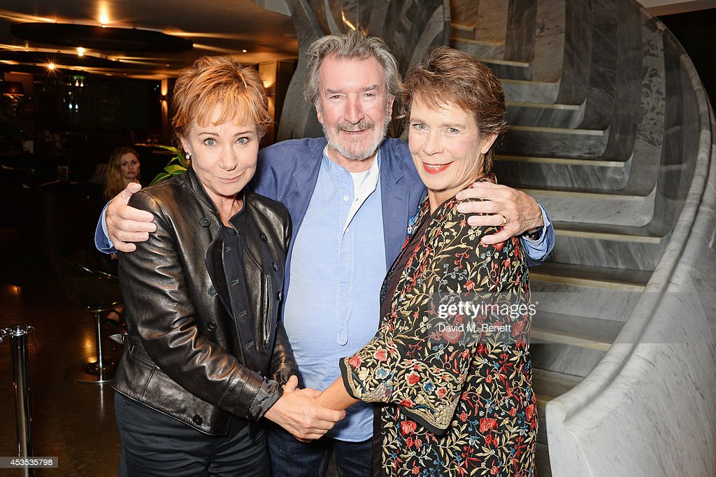 Zoe Wanamaker, Gawn Grainger and Celia Imrie attend an after party celebrating the press night performance of 'Celia Imrie: Laughing Matters' at the St James Theatre on August 12, 2014 in London, England.