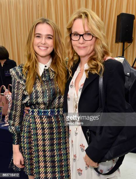Zoey Deutch and Lea Thompson attend the Dress For Success WorldwideWest Seventh Annual Shop For Success Vip Event In Los Angeles on November 30 2017...
