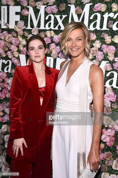 Zoey Deutch and Nicola Maramotti attend the Max Mara Celebrates Zoey Deutch As The 2017 Women In Film Max Mara Face Of The Future Award Recipient...