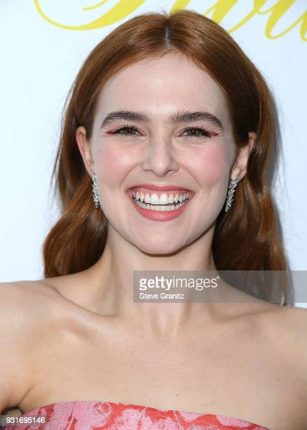 Zoey Deutch arrives at the Premiere Of The Orchard's 'Flower' at ArcLight Cinemas on March 13 2018 in Hollywood California