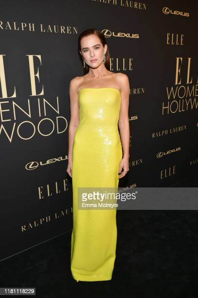 Zoey Deutch attends ELLE's 26th Annual Women In Hollywood Celebration Presented By Ralph Lauren And Lexus at The Four Seasons Hotel Los Angeles on...