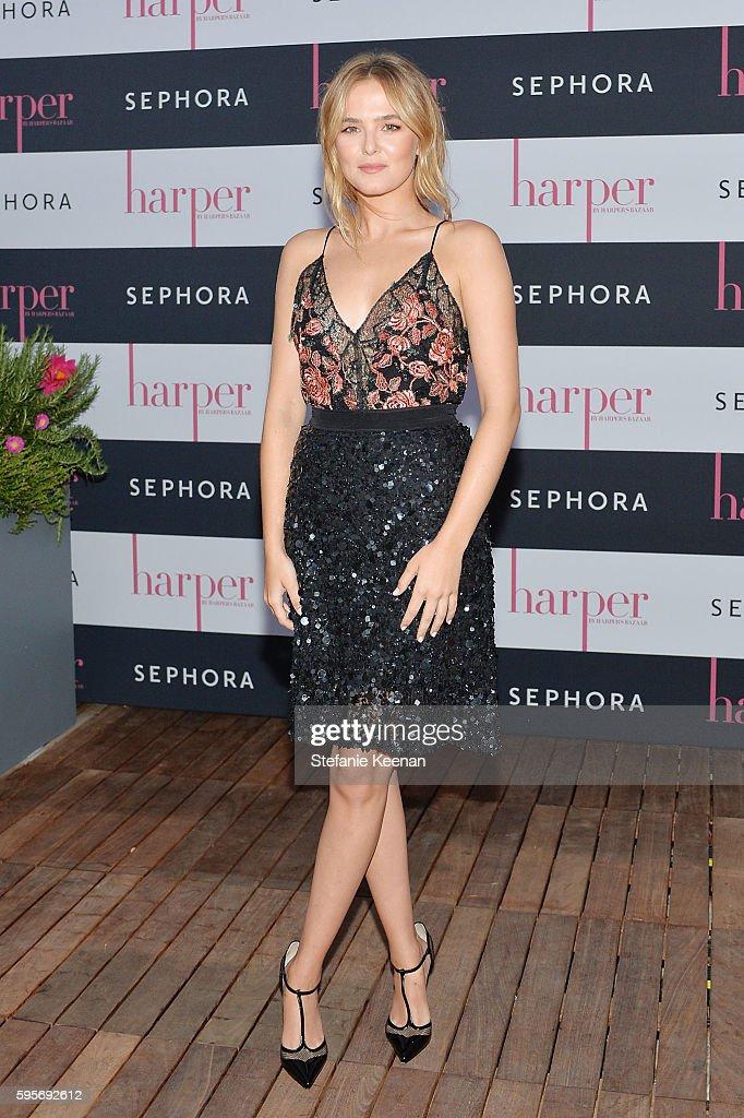 harper x Harper's BAZAAR September Issue Event Hosted By Zoey Deutch And Amanda Weiner At Neuehouse Hollywood