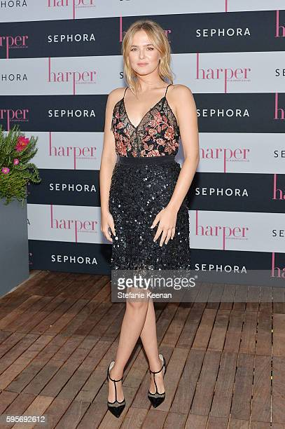 Zoey Deutch attends harper By HarperÕs BAZAAR September Issue Party Hosted by Zoey Deutch and Laura Brown presented by Sephora at NeueHouse Los...