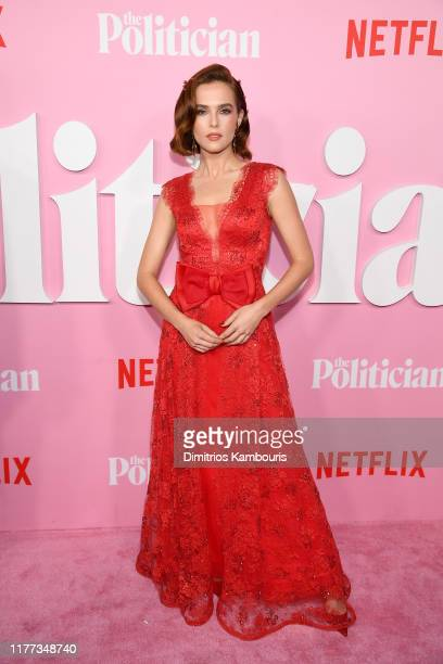 Zoey Deutch attends Netflix's The Politician Season One Premiere at DGA Theater on September 26 2019 in New York City