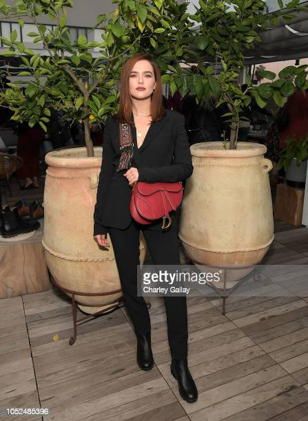 Zoey Deutch attends SOREL x LadyGang Fall Podcast Party at NeueHouse Los Angeles on October 18 2018 in Hollywood California