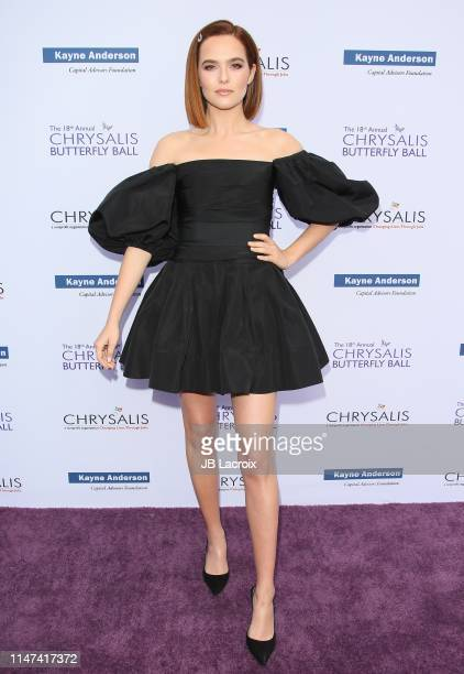Zoey Deutch attends the 18th annual Chrysalis Butterfly Ball on June 01 2019 in Brentwood California
