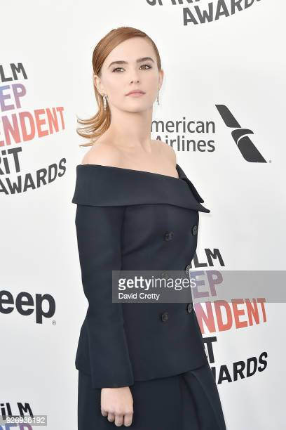 Zoey Deutch attends the 2018 Film Independent Spirit Awards Arrivals on March 3 2018 in Santa Monica California