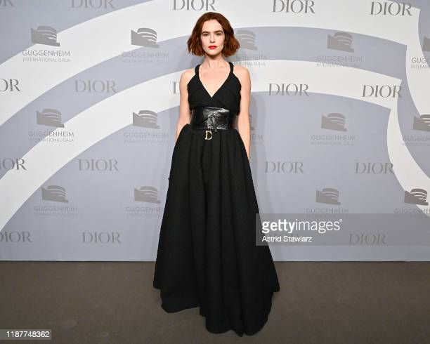 Zoey Deutch attends the 2019 Guggenheim International Gala at Solomon R. Guggenheim Museum on November 14, 2019 in New York City.