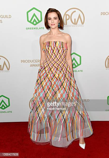 Zoey Deutch attends the 31st Annual Producers Guild Awards at Hollywood Palladium on January 18 2020 in Los Angeles California