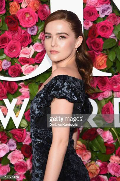 Zoey Deutch attends the 72nd Annual Tony Awards at Radio City Music Hall on June 10 2018 in New York City