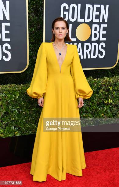 Zoey Deutch attends the 77th Annual Golden Globe Awards at The Beverly Hilton Hotel on January 05 2020 in Beverly Hills California