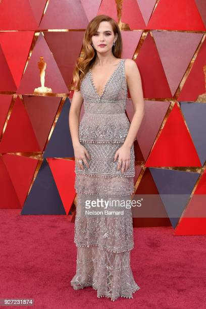Zoey Deutch attends the 90th Annual Academy Awards at Hollywood Highland Center on March 4 2018 in Hollywood California