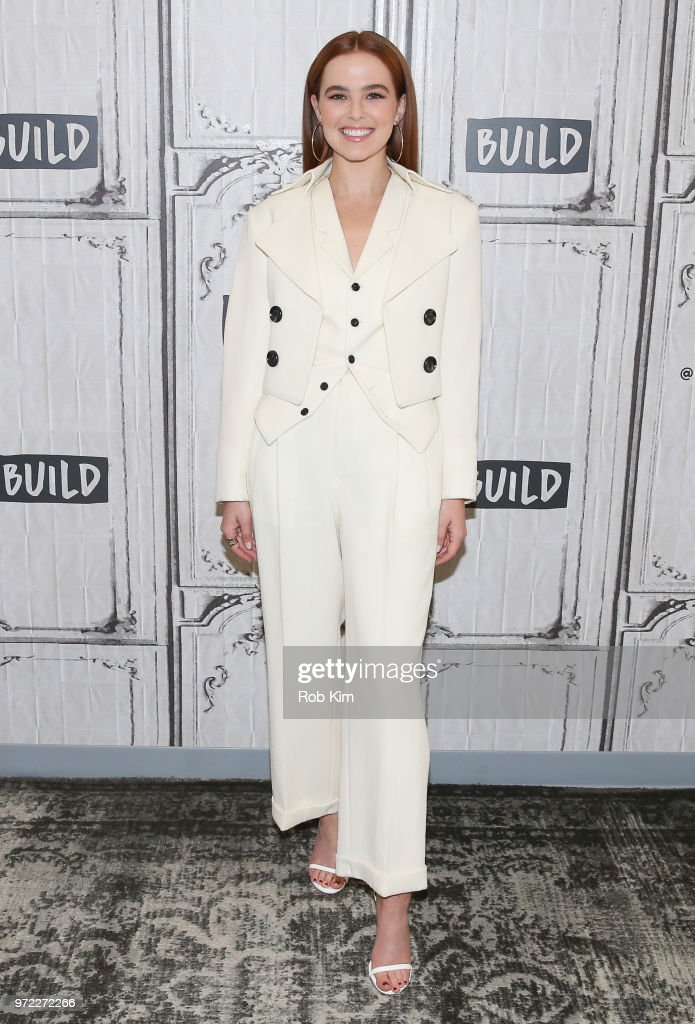 Zoey Deutch attends the Build Series at Build Studio on June 12, 2018 in New York City.