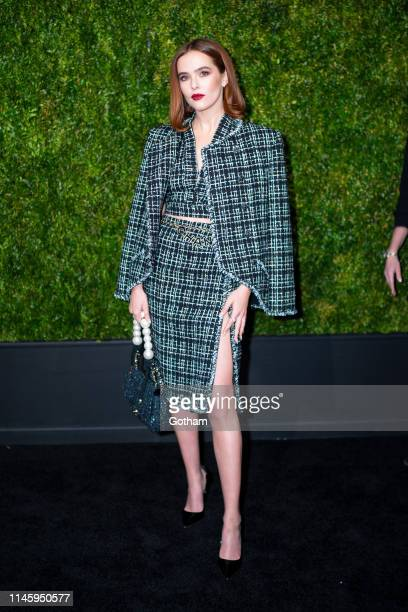Zoey Deutch attends the Chanel 14th Annual Tribeca Film Festival Artists Dinner at Balthazar on April 29 2019 in New York City