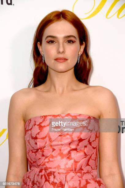 Zoey Deutch attends the Premiere Of The Orchard's 'Flower' at ArcLight Cinemas on March 13 2018 in Hollywood California