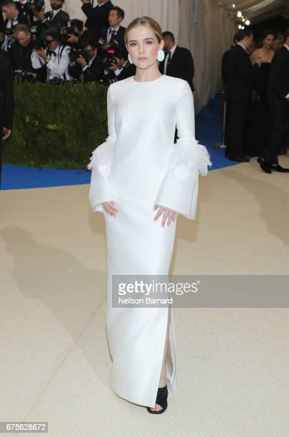 Zoey Deutch attends the 'Rei Kawakubo/Comme des Garcons Art Of The InBetween' Costume Institute Gala at Metropolitan Museum of Art on May 1 2017 in...
