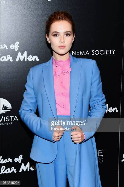 Zoey Deutch attends 'The Year Of Spectacular Men' New York Premiere at The Landmark at 57 West on June 13 2018 in New York City