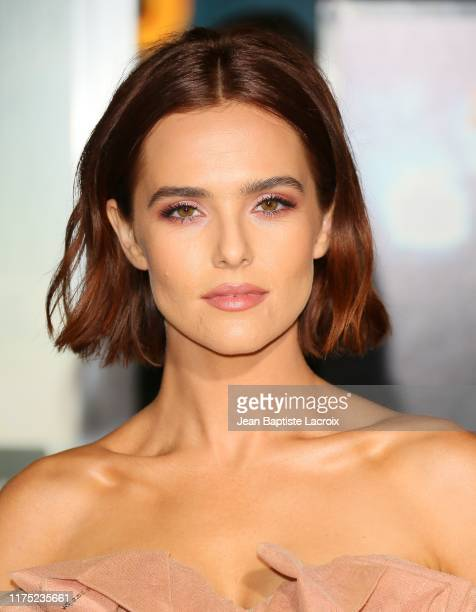 Zoey Deutch attends the Zombieland Double Tap Sony Pictures Premiere at Regency Village Theatre on October 10 2019 in Westwood California