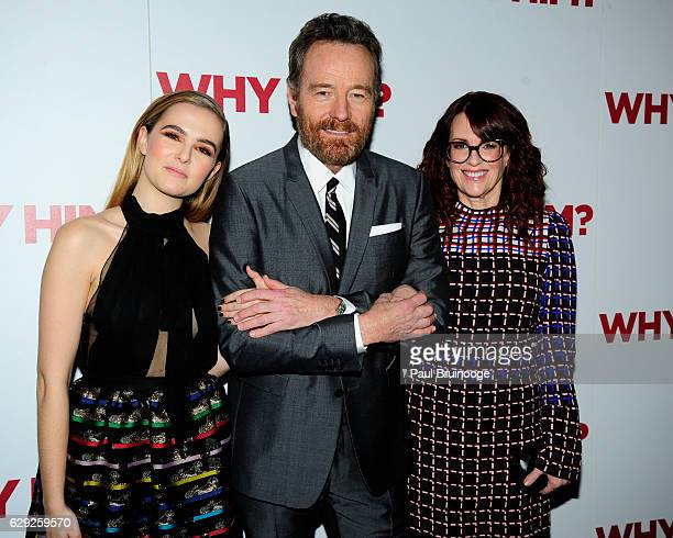 Zoey Deutch Bryan Cranston and Megan Mullally attend the 20th Century Fox Hosts a Special Screening of Why Him at iPic Theater on December 11 2016 in...