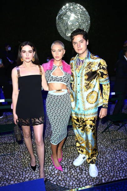 ITA: Versace Special Event - Front Row - Milan Fashion Week - Spring / Summer 2022