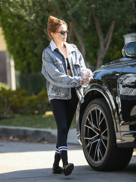 CA: Celebrity Sightings In Los Angeles - June 23, 2021
