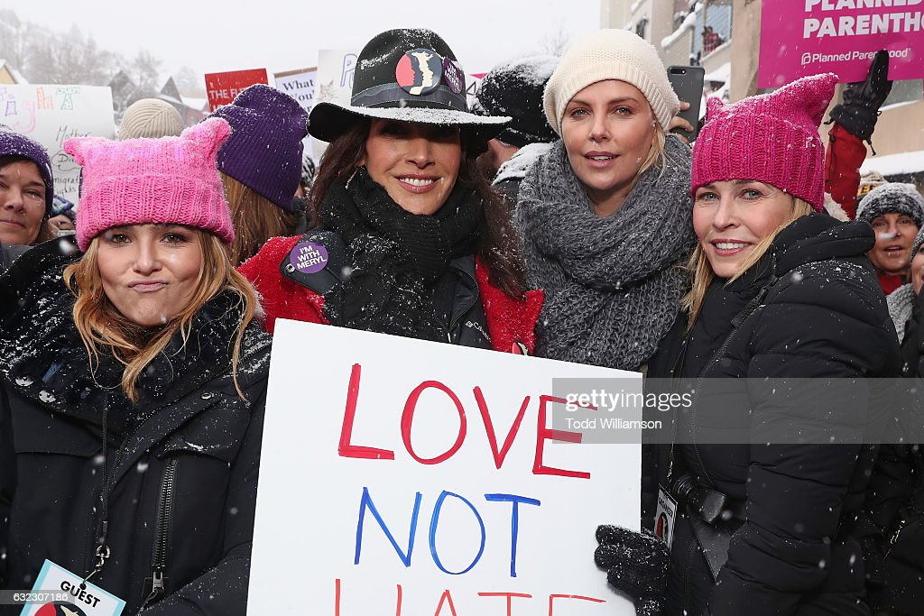 Chelsea Handler Hosts The March On Main In Park City, UT : News Photo