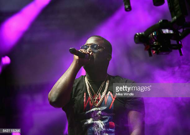 Zoey Dollaz performs onstage at EpicFest 2016 hosted by LA Reid and Epic Records at Sony Studios on June 25 2016 in Los Angeles California