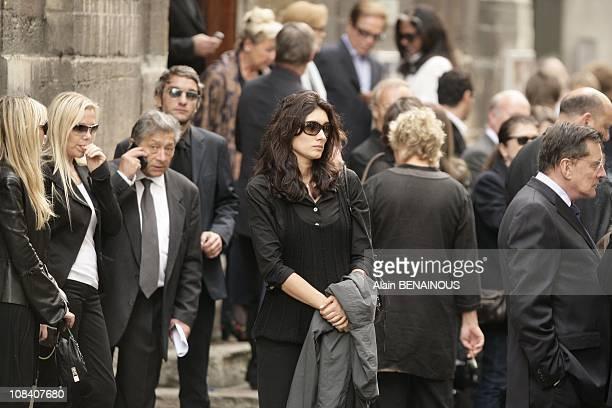 Zofia Borucka in Paris France on June 04 2007