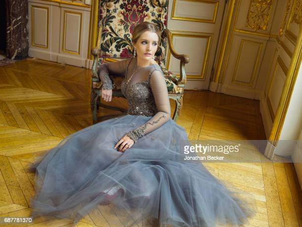 Zofia Krasicki v Siecin is photographed for Vanity Fair Magazine on November 28 2015 at the Palais de Chaillot in Paris France PUBLISHED IMAGE