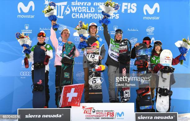Zoi Sadowski Synnott of New Zealand Nicolas Huber of Switzerland Seppe Smits of Belgium Laurie Blouin of Canada Chris Corning of the United States...