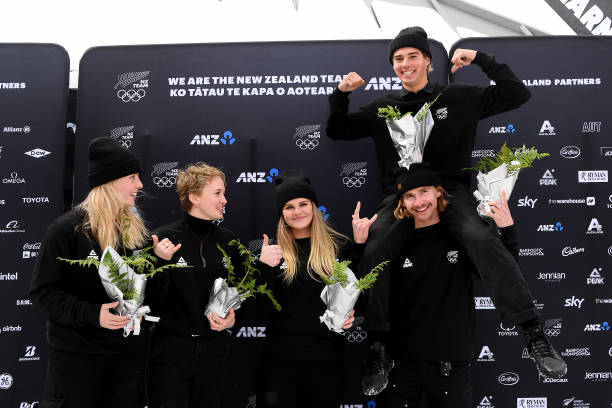 NZL: NZOC Winter Olympic Games Athlete Selection Announcement