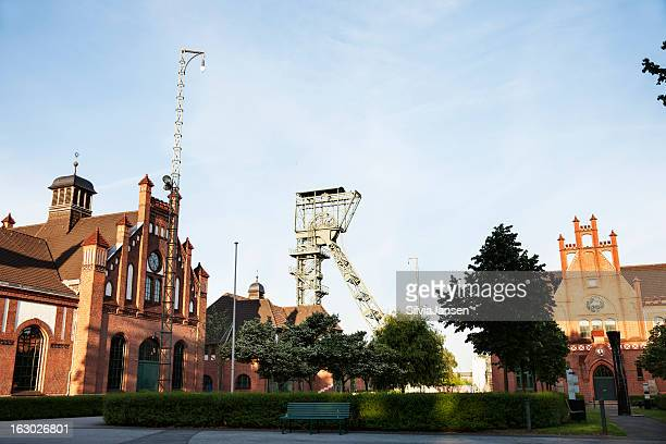 zeche zollern former coal mine - dortmund stock pictures, royalty-free photos & images