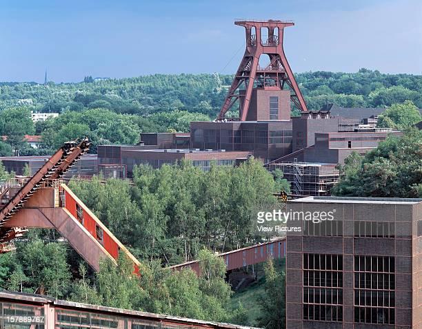 Zollverein Coal Mine Industrial Complex Essen Germany Architect Schupp And Kremmer Zollverein Coal Mine Industrial Complex Overall Industrial Around...