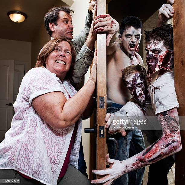 zombie attack - ajar stock pictures, royalty-free photos & images