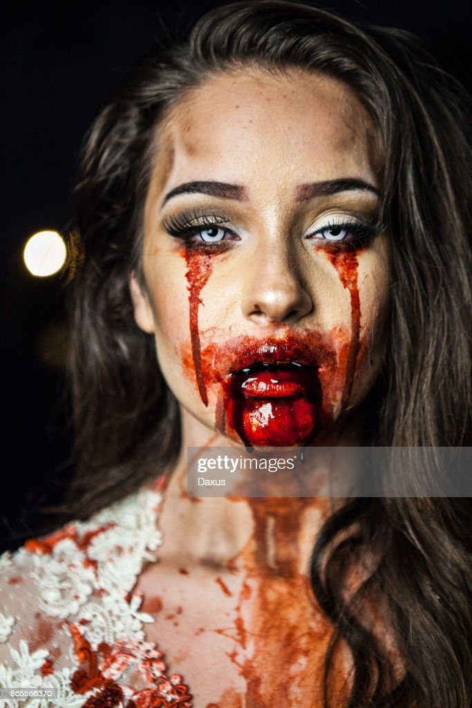 Zombie Bride Portrait : Stock Photo