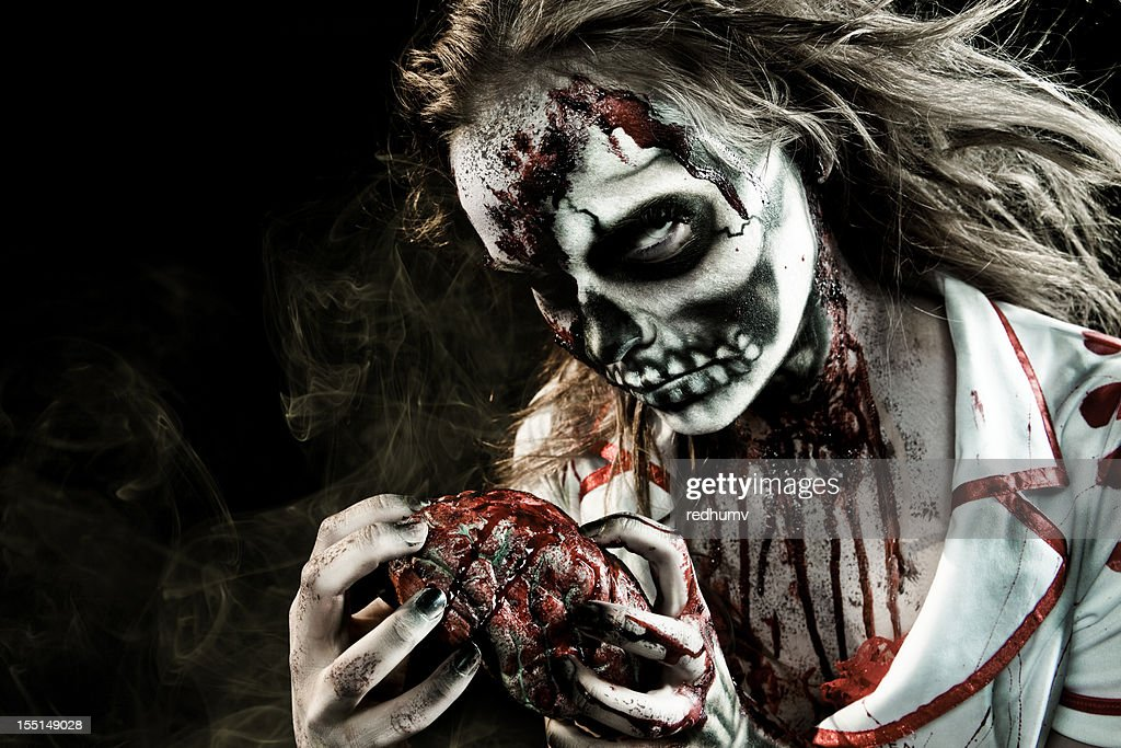 Zombie Feeding : Stock Photo